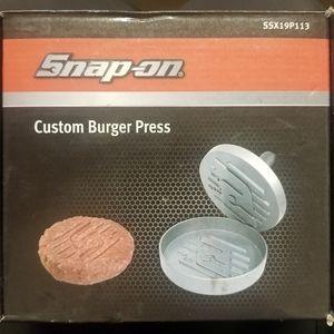 Snap-On Burger Press